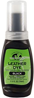 kiwi leather dye black