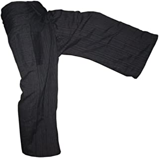 "PANASIAM Thai Fisherman Pants ""Line"" in 2 Sizes and 13 Colors, 100% Cotton"