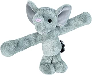 Wild Republic Huggers, Elephant Plush Toy, Slap Bracelet, Stuffed Animal, Kids Toys, 8 Inches 21416