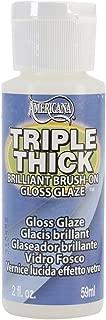jbr1090 Deco Art� Triple Thick Brilliant Brush-On Glaze - 2oz./Gloss