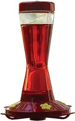 Perky-Pet 210P Popular Pinch Waist 16-ounce Glass Hummingbird Feeder
