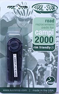 Kool Stop Campy 2000 Brake Pad Inserts (Carbon no 2)