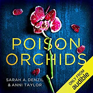 Poison Orchids audiobook cover art