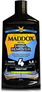 Maddox Detail - Swirl Remover - Pulidor de Alto Rendimiento. Elimina Marcas de Lavado del Coche.