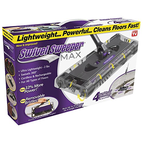 Affordable Ontel SWSMAX Swivel Sweeper, Purple