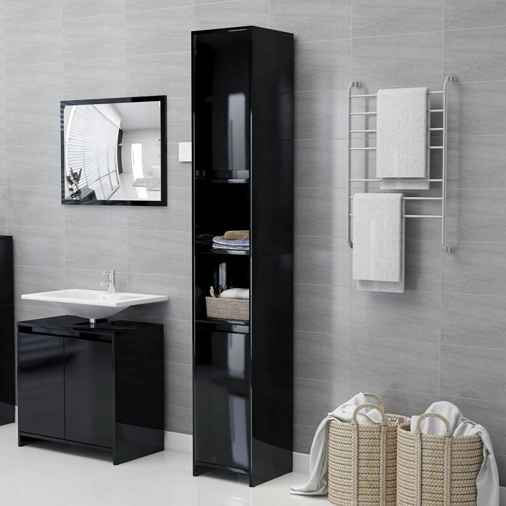 OFFicial shop Tall Bathroom Storage Cabinet Freestanding Excellence Narrow Or Floor Side