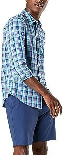 Dockers Men's Supreme Flex Long Sleeve Button Up Shirt