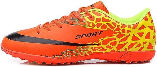 Loykind Unisex del Bajo-Top Botas De Fútbol, Zapatos Rotos Uñas De Fútbol Femenino Outdoor Training Zapatillas De Atletismo Zapatos Tacos Adecuados para Los Adolescentes