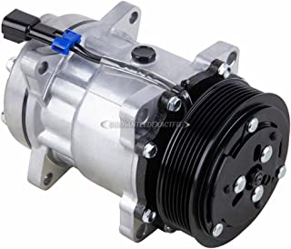 AC Compressor & A/C Clutch For Chevy Kodiak W3500 W4500 W5500 GMC TopKick Diesel Replaces Sanden SD7H15 4618 7-Groove - BuyAutoParts 60-00887NA New