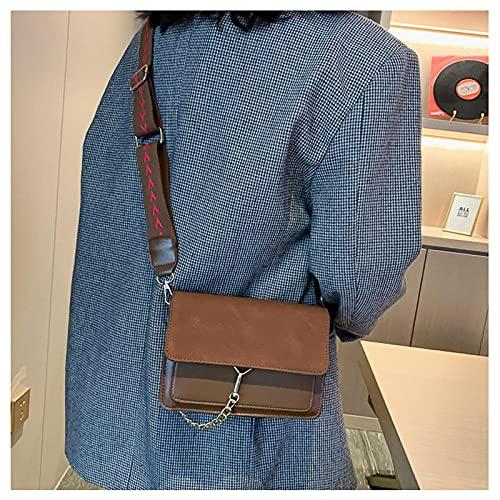FWJSDPZ Fashion Trend Women s New Texture Shoulder Bag Casual Small Square Bag Wild Crossbody Messenger Handbags Solid Color Tote (Color : 3)