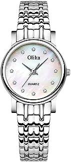 RORIOS Mujer Relojes Impermeable Cuarzo Reloj con Correa en Acero Inoxidable Moda Diamante Reloj de Pulsera para Mujeres C...