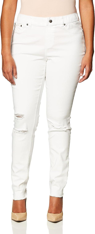 Hue Women's Tulsa Mall Ripped Leggings Denim Finally popular brand Knee