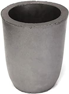 #6 - Clay Graphite Crucibles Foundry Cup Furnace Torch Melting Casting Refining Graphite Crucibles for Copper Gold Silver Aluminum