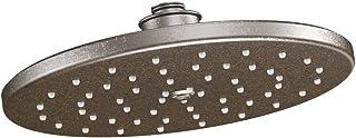 Moen S112ORB Waterhill 10-Inch One-Function Rainshower Showerhead, Oil Rubbed Bronze