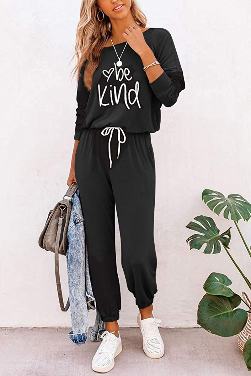 AUTOMET Womens Loungewear Sets 2 Piece Sweatsuit Lounge Sets with Long Sleeve Pullover Tops and Long Pants Outfits