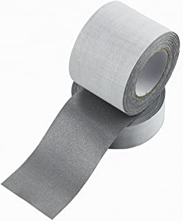 Safety Sew On Silver Reflective Fabric Tape DIY for Clothing 50mmx10m (2