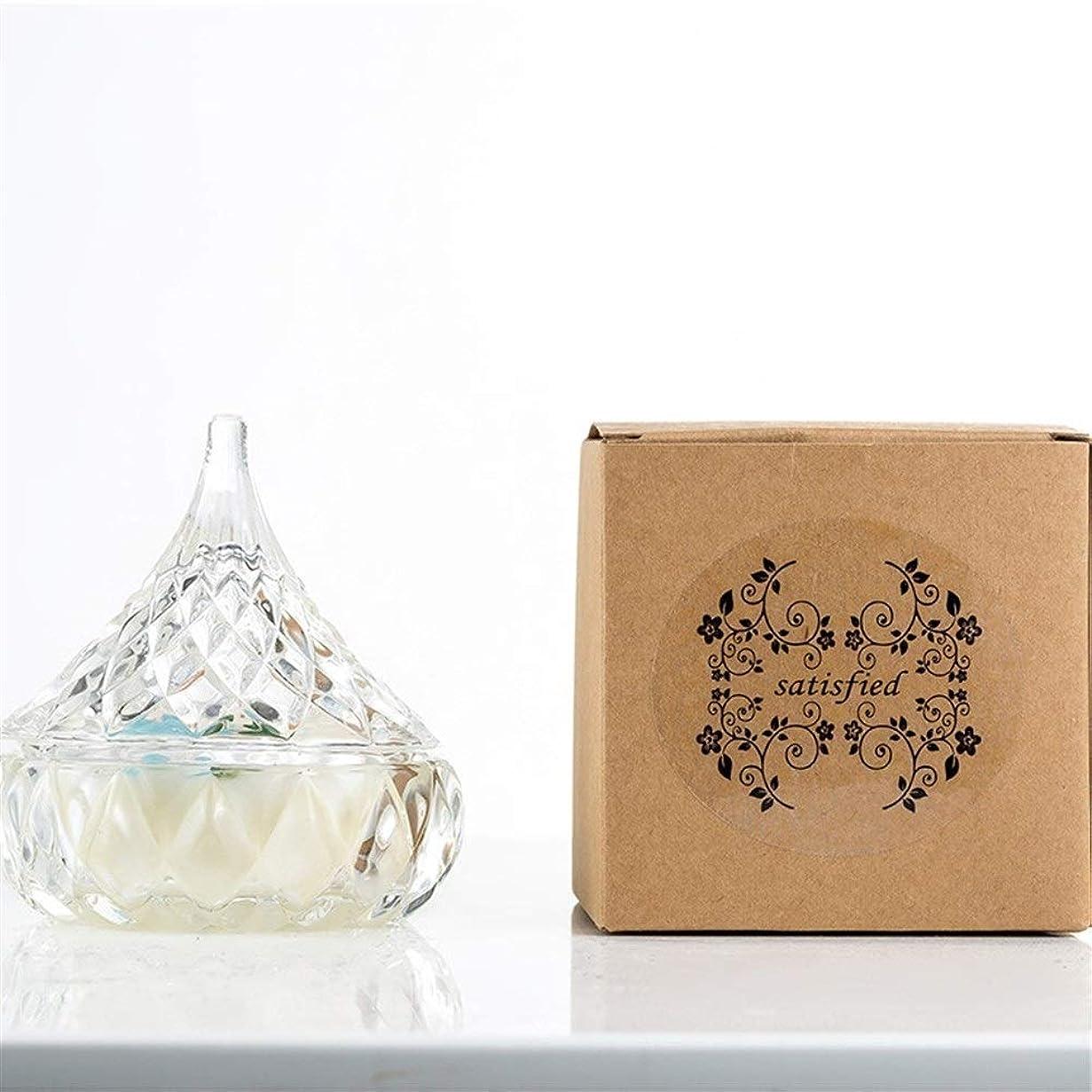 国王 シンプルパオアロマセラピーエッセンシャルオイルラスティングフレグランス環境に優しい非毒性装飾用品キャンドル (色 : Lavender)