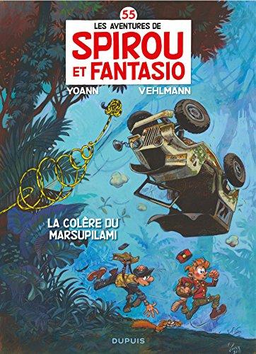 Spirou et Fantasio - Tome 55 - La Colère du Marsupilami: Édition Spéciale Anniversaire