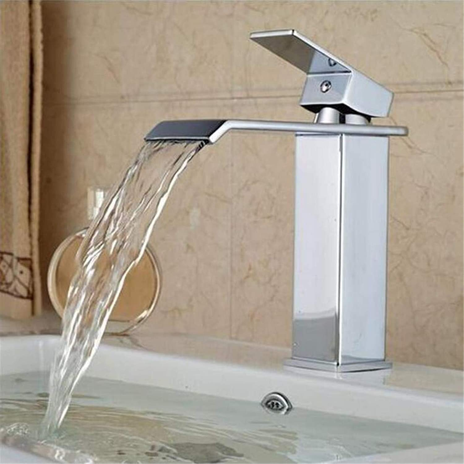 Vintage Brass 360 Degree redationfaucetwaterfall Hot and Cold Water Taps Bright Chrome