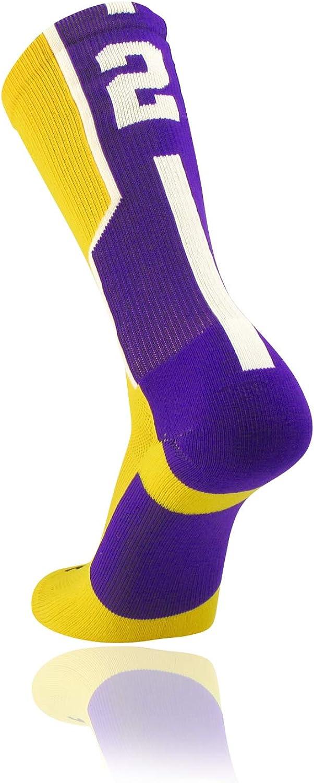 TCK Player ID Jersey Number Crew Socks Gold Purple Singles