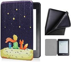 Capa Kindle Paperwhite 10ª geração à prova d'água - Função Liga/Desliga - Fechamento magnético - Silicone - Pequeno Príncipe