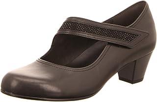 Gabor 76.147.57 Comfort Chaussures de sport avec strass Noir