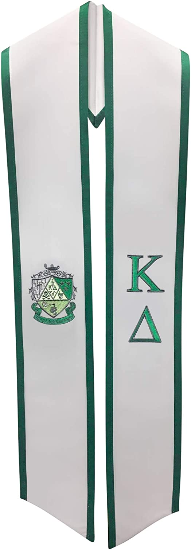 Kappa Delta Sgoldrity Deluxe Embroidered Graduation Stole