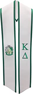 Kappa Delta Sorority Deluxe Embroidered Graduation Stole