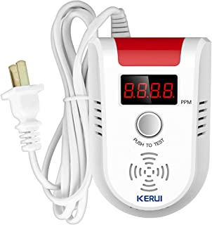 KERUI GD13 Home Universal Security Instruments liquefied petroleum gas natural gas methane Combustible Gas Detector Alarm Sensor System with Voice Warning prompt