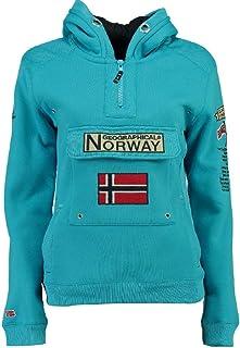Geographical Norway Felpa da Uomo GYMCLASS A Turchese