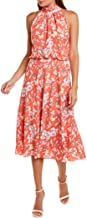 Adrianna Papell Women's Tea Time Floral Bias Dress