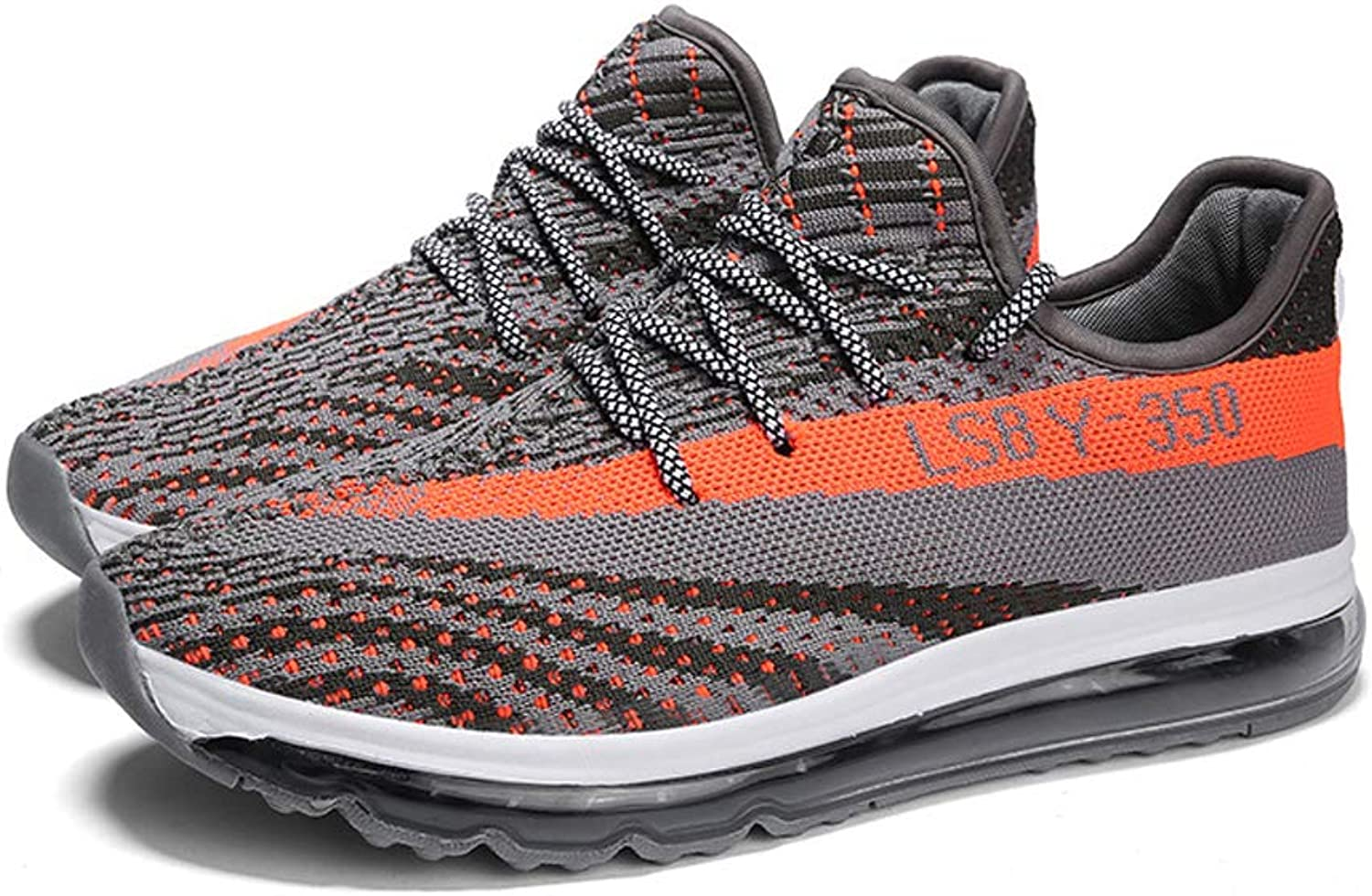 WGFGXQ Casual Men'S shoes, Breathable Lightweight Running shoes.