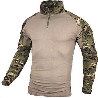 zuo xiang ru Men Tactical Combat Airsoft Military Shirt
