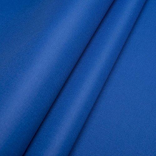 Polyester Oxford 600D 1lfm - Wasserdicht, Outdoor Stoff, Segeltuch, Abdeckplane - Wasserdicht (Blau)