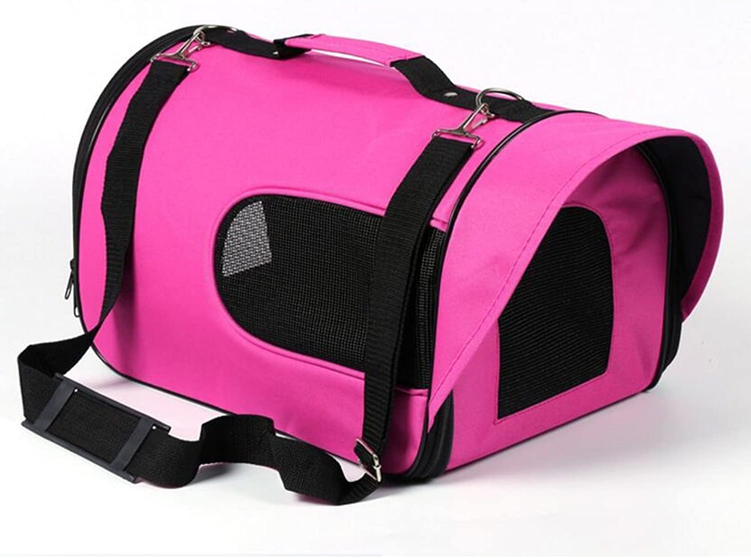 Backpacks YIXIN Cats and Dogs Pet Outdoors Package Oblique Bag Handbag Waterproof Oxford Cloth Easy To Carry pink Red 4 (Size   S31  21  20CM)