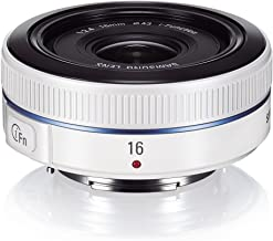 Samsung NX 16mm f/2.4 Camera Lens (White)