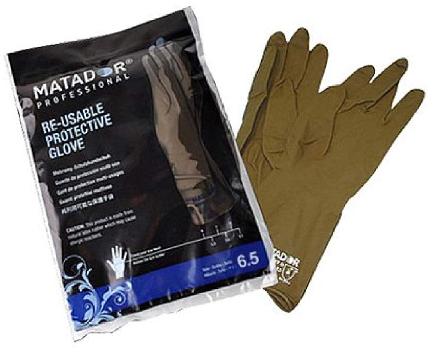 贅沢娯楽ジェームズダイソンマタドールゴム手袋 7.5吋 【24個セット】
