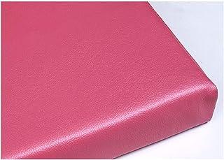 bandezid Cojín para Banco Cojín para Columpio Cojín para Banco Exterior Cojín para Banco Cojín Cojín para Banco Exterior Asiento Cómodo E Impermeable-Rosa 100×30×5cm(39×12×2in)