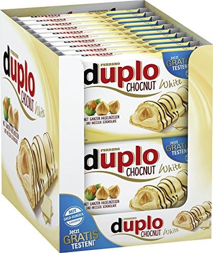 Duplo Chocnut White Limited Edition, 20er Pack (20 x 130g)