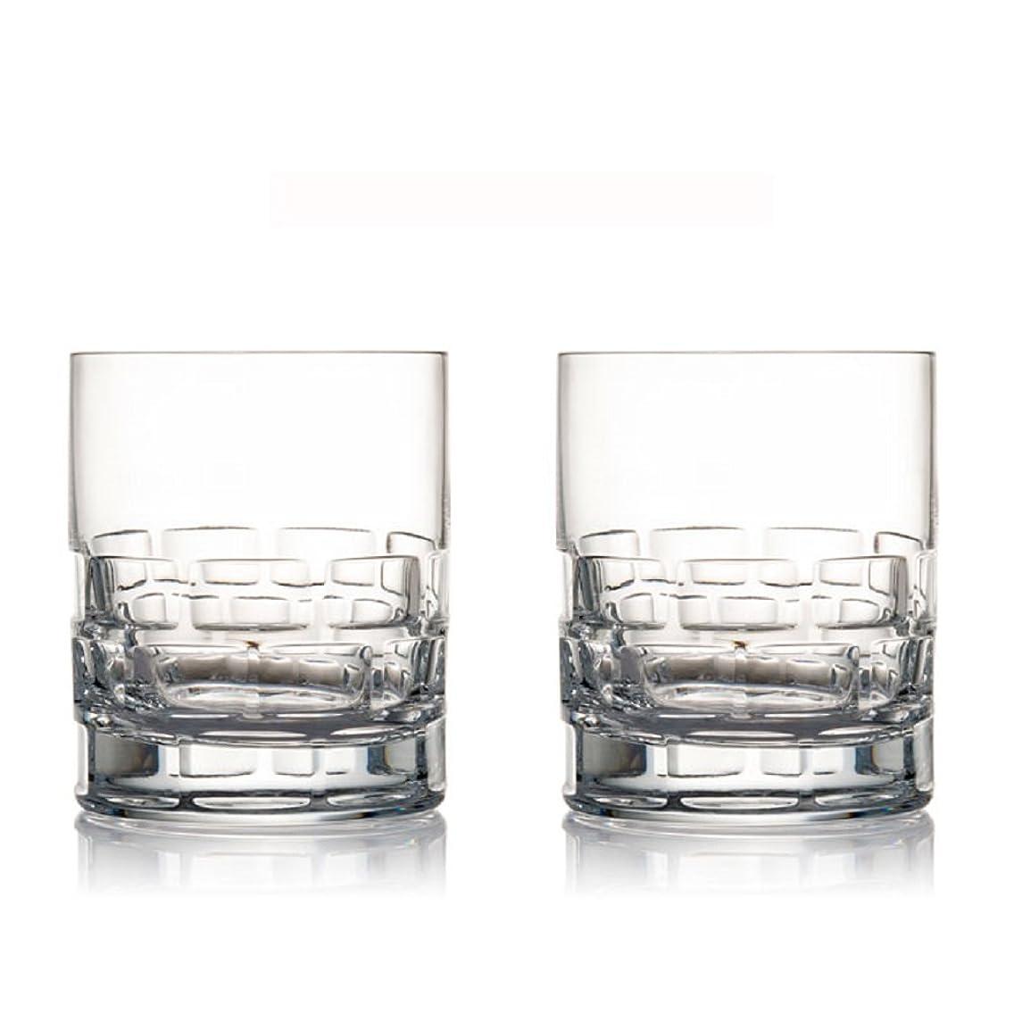 乗ってシートエンジニアRogaska Maison Double Old Fashioned Glasses, Set of 2