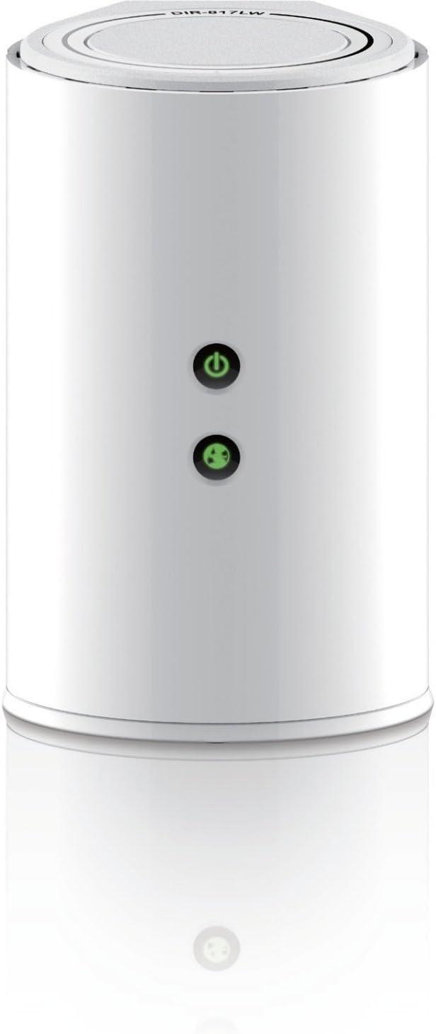 D-Link DIR-817LW/D Wireless AC750 Dual Band Wi-Fi Router (Black)