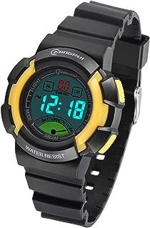 Kids Digital Watch, Boys Girls 30M(3ATM) Waterproof Night Light Multifunctional Sports Outdoor Wrist Watches with Alarm for Children