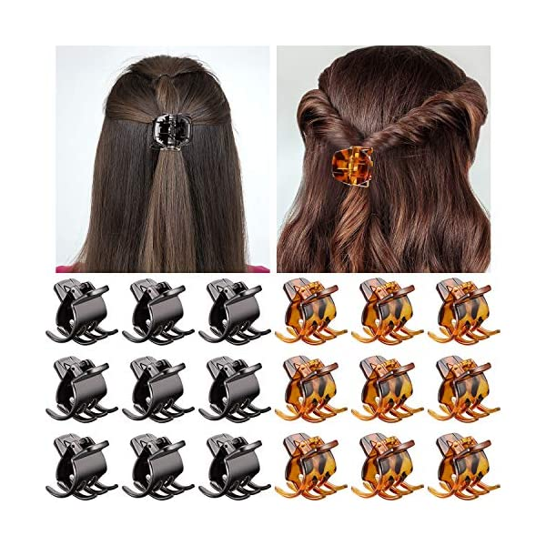 Beauty Shopping Hair Claw Clips Medium Size Hair Claws 1.3 Inch Hair Jaw Clip Claw Clip Grip for