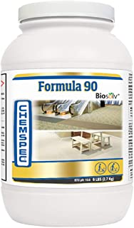 Chemspec Formula 90 BioSolv, Professional Carpet Cleaning Detergent, Quick Dissolving Powder, Fresh Citrus Scent, 1-6 lb jar