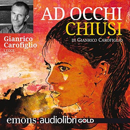 Ad occhi chiusi audiobook cover art