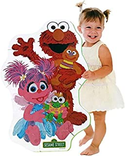 Sesame Street Elmo Big Like Me Foam Floor Puzzle (w/ Abby Cadabby)