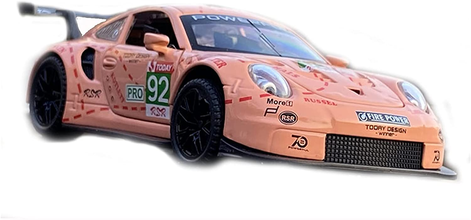 HWZH Scale cheap car Model 1:32 for Porsches Alloy 911 C RSR Max 63% OFF Track Car