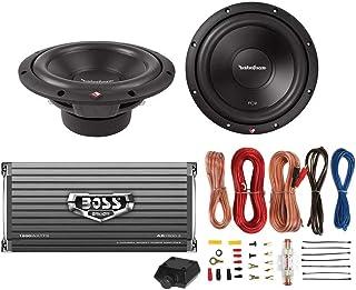 2) Rockford Fosgate R2D2-10 10' 1000W 2-Ohm Car Subs + 1600W 2-Ch Amp + Amp Kit