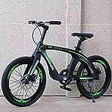 Hot Ride Leggero Singolo Velocità 20 ' Mountain Biciclette Biciclette Magnesio Lega più Resistente Telaio Freno a Disco