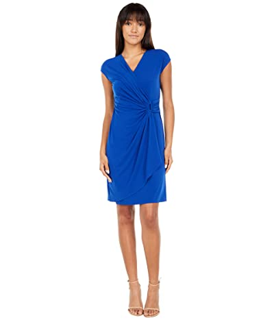 Tommy Bahama Clara Faux Wrap Short Sleeve Dress